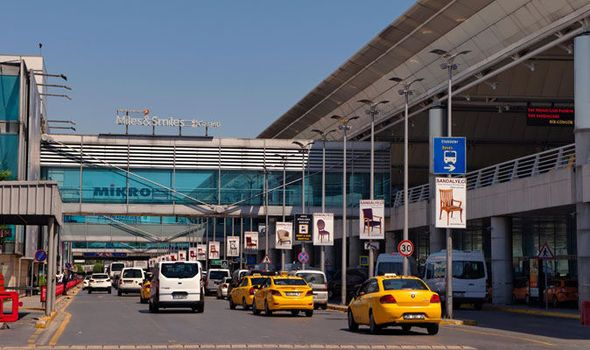 EIGHT people have been arrested at Istanbul's main airport hub amid fears they are Islamic State (ISIS) terrorists posing as refugees on their way to Germany.