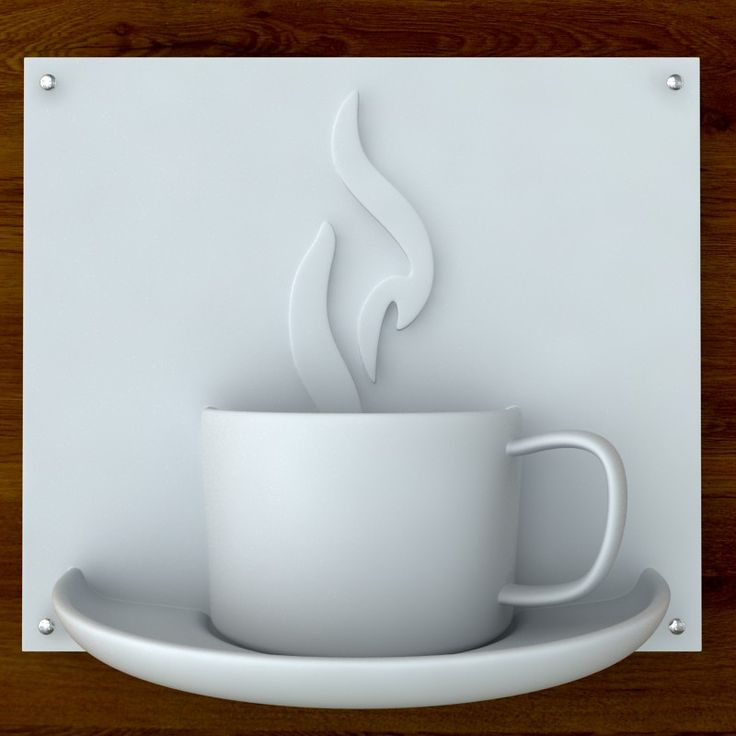 3d Printable Coffee sign STL OBJ 3D Model- This is a printable/3d print ready coffee sign for cafe', restaurant, food court, mall, airport, etc.   Hollow model to keep the printing cost low, completely watertight mesh, no pseudo surfaces, minimum wall thickness >1.0mm, checked with NetFabb Studio.  Renders are done using final STL file, that means You get exactly what you see in the images.    This is a 12 inch version, please contact for more sizes.  Dimensions: 12.0 w x 5.3 d x 10.5 h…