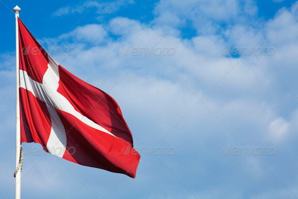 Danish Flag ...  Danish, backdrop, background, blowing, blue, blue sky, breeze, bright, clouds, cloudy, copy space, copyspace, cross, dannebrog, denmark, europe, european, flag, flagpole, flagstaff, flapping, fluttering, flying, horizontal, mast, national emblem, national flag, no-one, nobody, one, patriotic, patriotism, pole, red, scandinavia, scandinavian, shining, single, skies, sky, space for text, staff, sun light, sunlight, symbol, symbolic, symbolism, white, wind