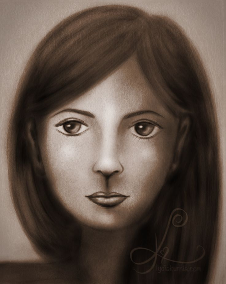 Practice... #girl #face #pencil drawing
