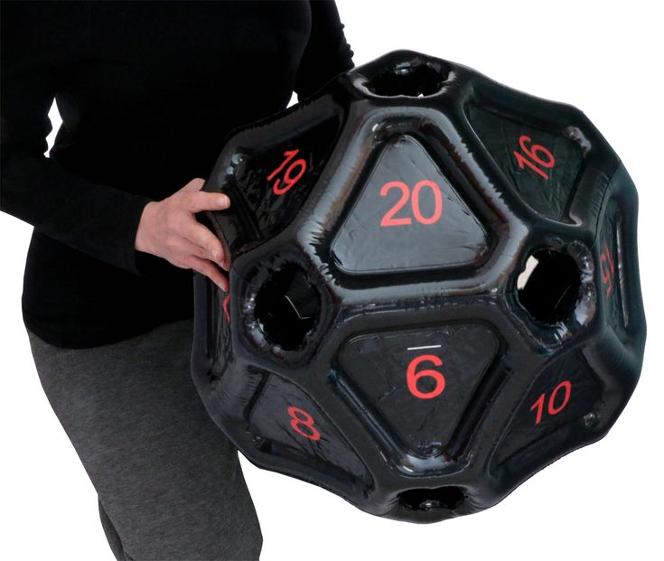 They're back! Giant Inflatable d20 dice.