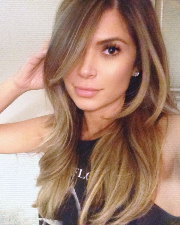 Most Exceptional and Perfect Long Layered Haircuts Model: Marianna Hewitt Long Layered Haircuts Model