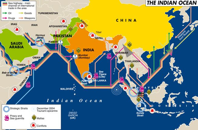 Goods traded indian ocean maritime system