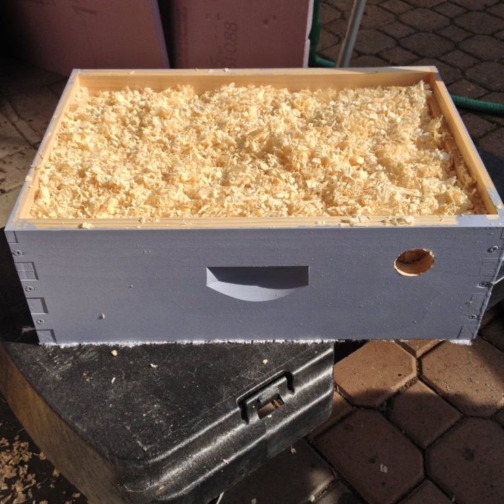Helping bees to overwinter by constructing a ventilated quilt box for Langstroth hives.