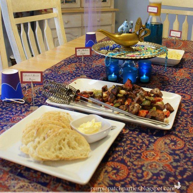 Disney's Aladdin Movie Night | CatchMyParty.com