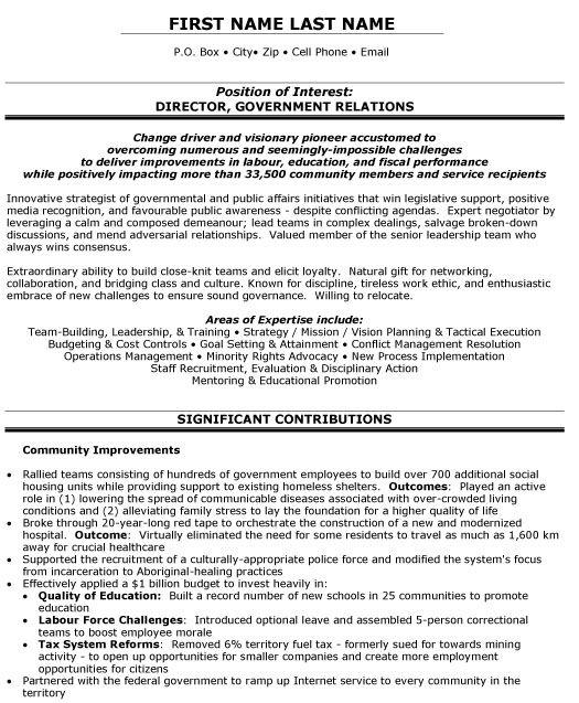 Free Resume Templates Government Free Resume Templates Pinterest