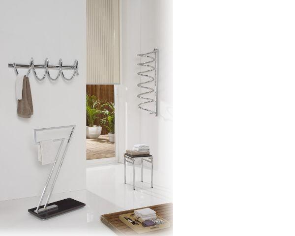 Secatoallas de baño en forma de espiral