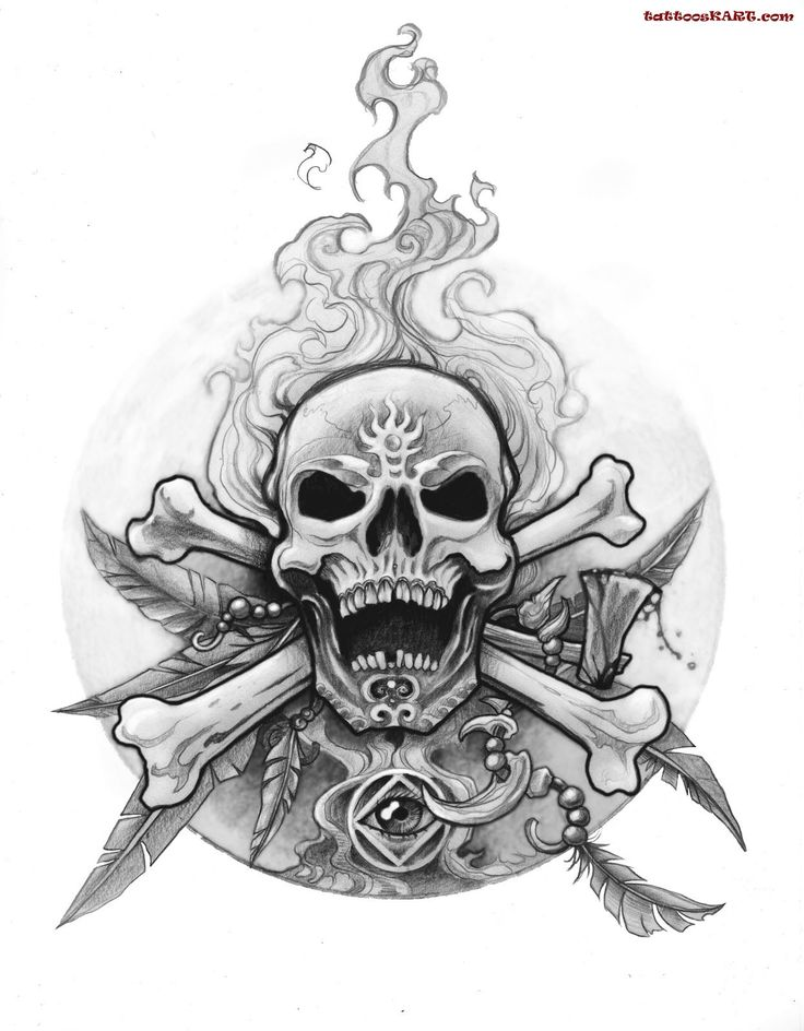 flaming skull tattoo google search skulls pinterest skulls skull tattoos and search. Black Bedroom Furniture Sets. Home Design Ideas
