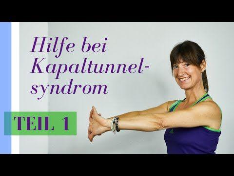 Karpaltunnelsyndrom // Übungen gegen kribbelnde, taube, einschlafende Hände - YouTube