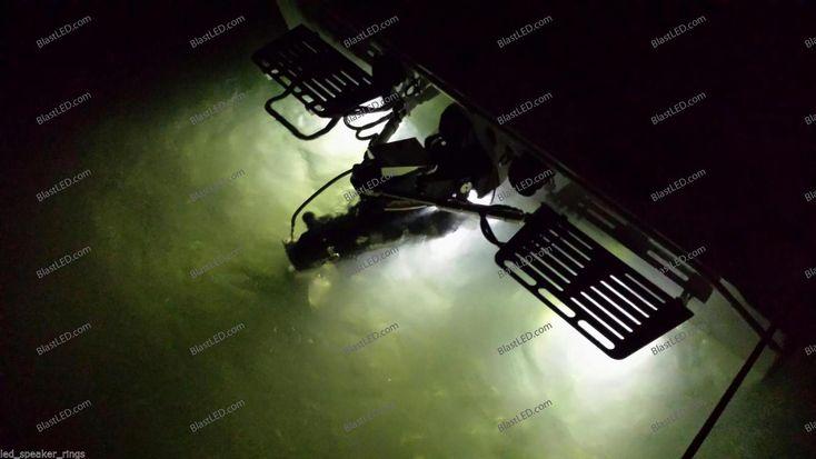 Underwater Marine BOAT LED Drain Plug Light - 6LED White