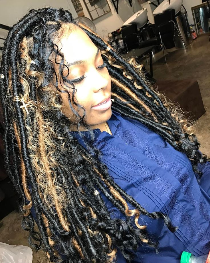 "1,237 Likes, 14 Comments - Khourtnei (@hair_designsbykoko) on Instagram: ""Jumbo Goddess Locs diamond package #healthy_hair_journey #hairstylist #healthyhair…"""