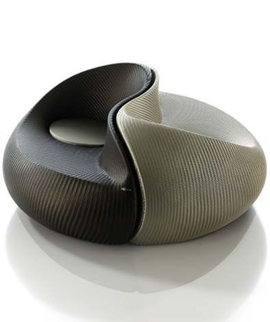 PadStyle | Interior Design Blog | Yin Yang Outdoor Dual Lounger