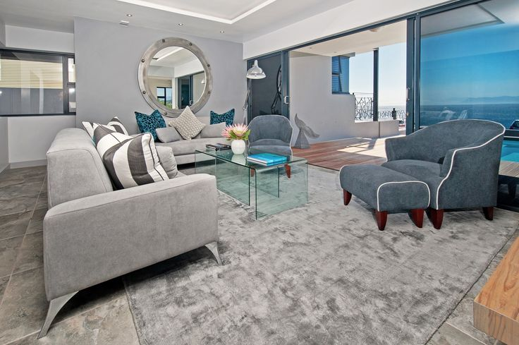 De Kelders living room - Overberg Interiors