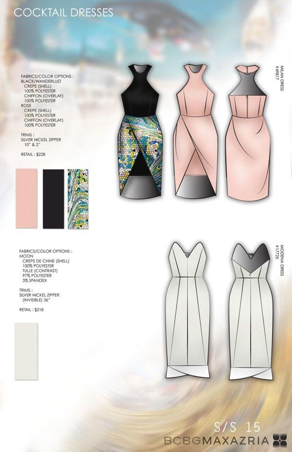 BCBG Line Concept Design Development   VENICE SS15 on Behance