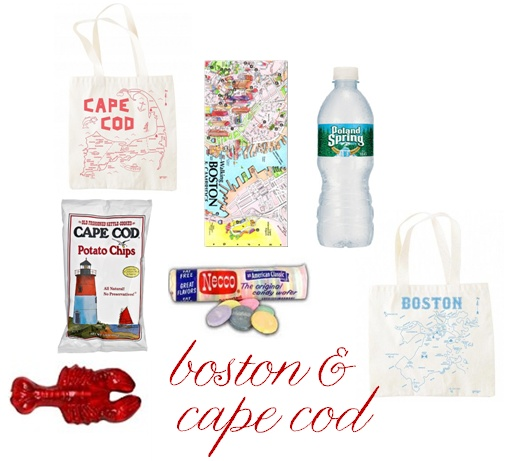Boston Wedding Gift Bag Ideas : cape cod wedding welcome bags gift baskets gift bags love notes boston ...