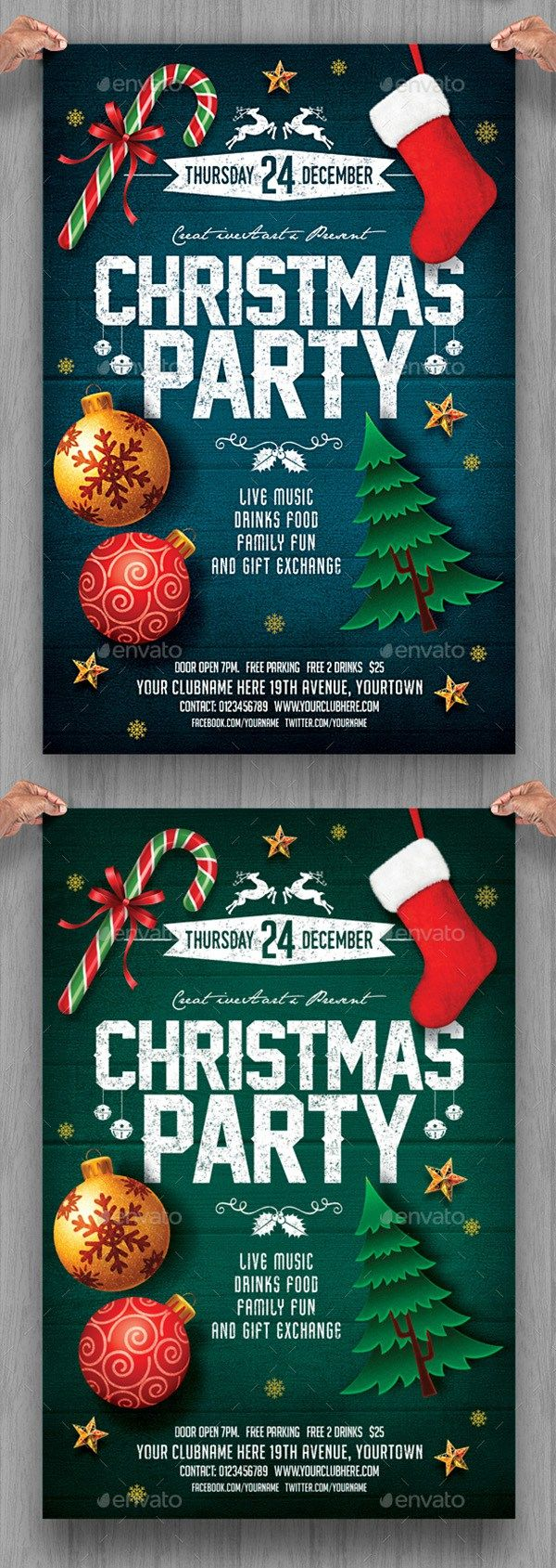 Christmas Poster Maker Merry Christmas And Happy New Year 2018