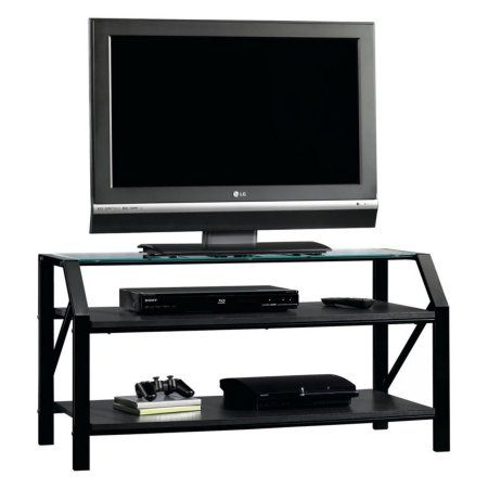 Sauder Beginnings Panel Tv Stand Black Products