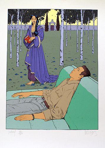 Moebius - Jean Giraud #comics #illustration #moebius