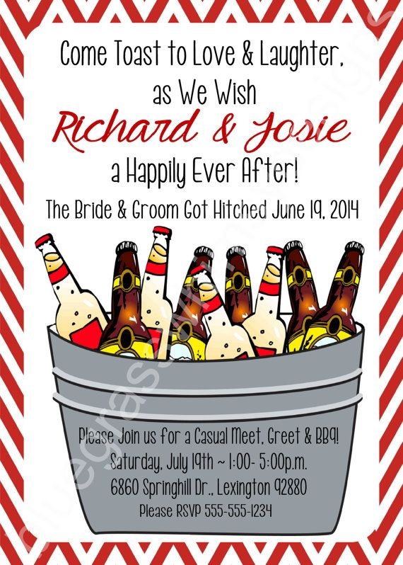 Cookout Bbq Beer Happily Ever After Diy Printable