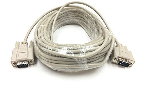 50Ft DB9 Male to Male Serial Cable