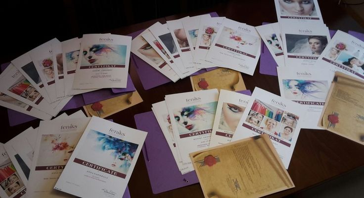 Kurs wizażu i analizy kolorystycznej. Certyfikat