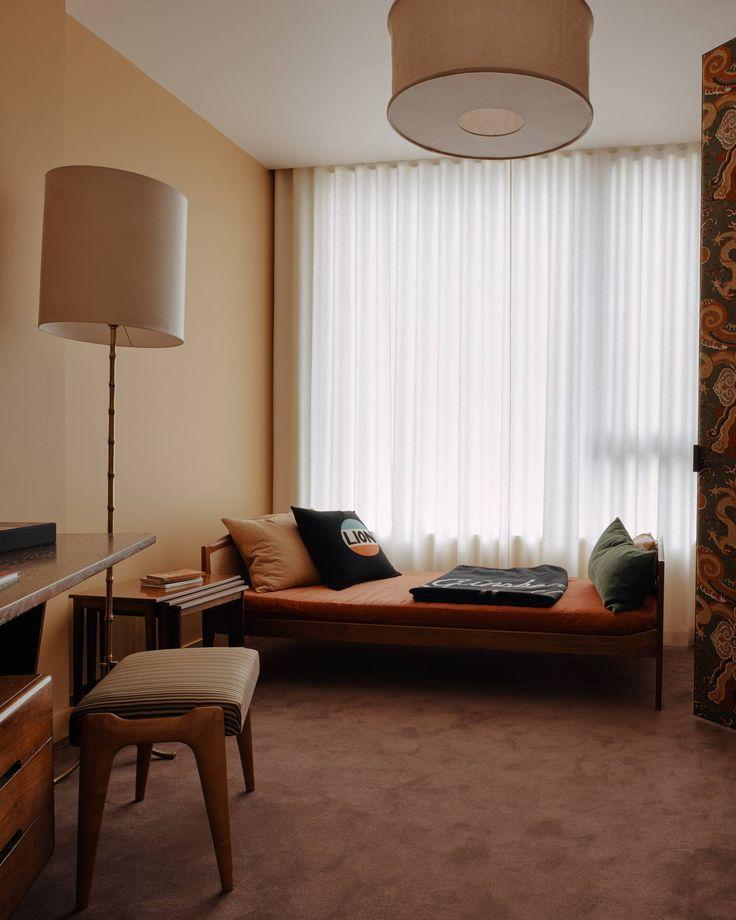A Television Centre apartment designed by Retrouvius and Bella Freud – h o m e