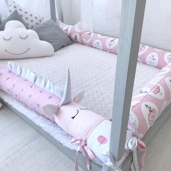Montessori Bed Bumper Montessori Bed Bumpers Etsy Montessori