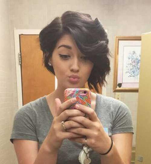 Asymmetrical Bob Haircuts you should try //  #asymmetrical #Haircuts #Should