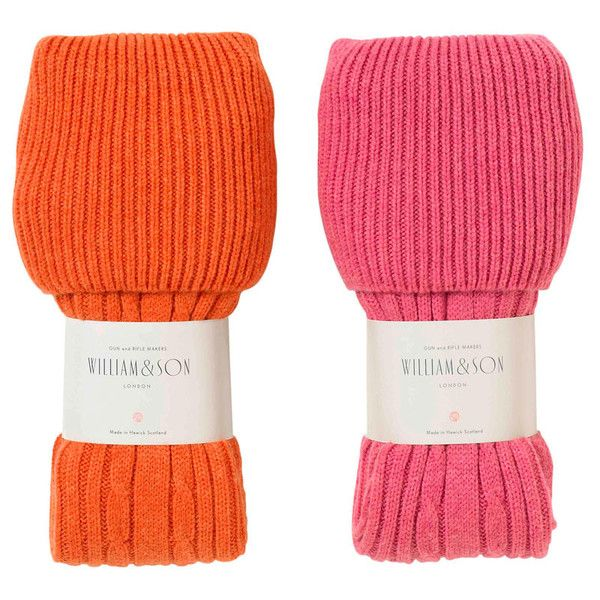 MEN'S BRAEMAR SOCKS  Cashmere cable knit socks with chunky knit top Sizes: Medium 8-10, Large 10.5-12.5  £175.00