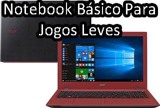 notebook básico, para jogos leves, notebook para atividades basicas, para uso doméstico, notebook barato, basico, bom