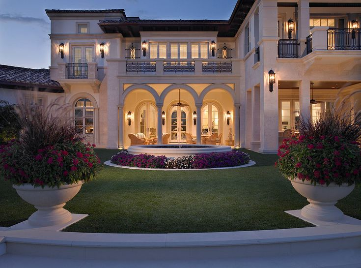 Best Mediterranean Homes I Love Images On Pinterest - Before and after from a mediterranean house fort lauderdale