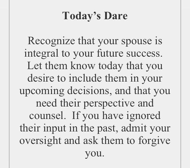 The love dare day 33