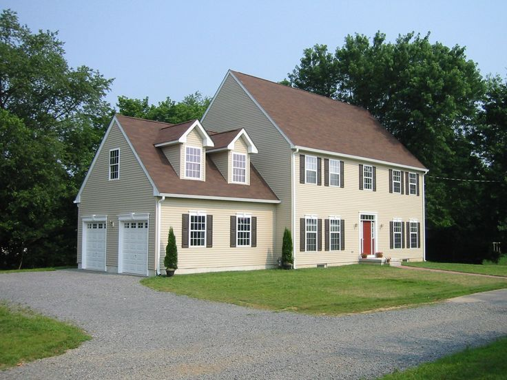 1000 images about the classic colonial two story home on for 2 story house plans with dormers