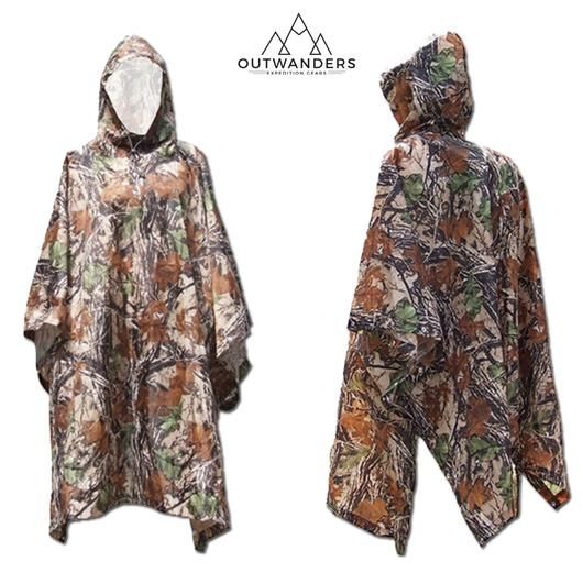 Multi-Functional 3 in 1 Waterproof Poncho