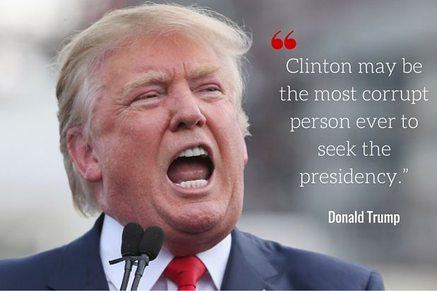 Why America Why corrupt presidents bush obama clinton trump  | Donald Trump's 5 Best Hillary Clinton Attack Lines (Photos)