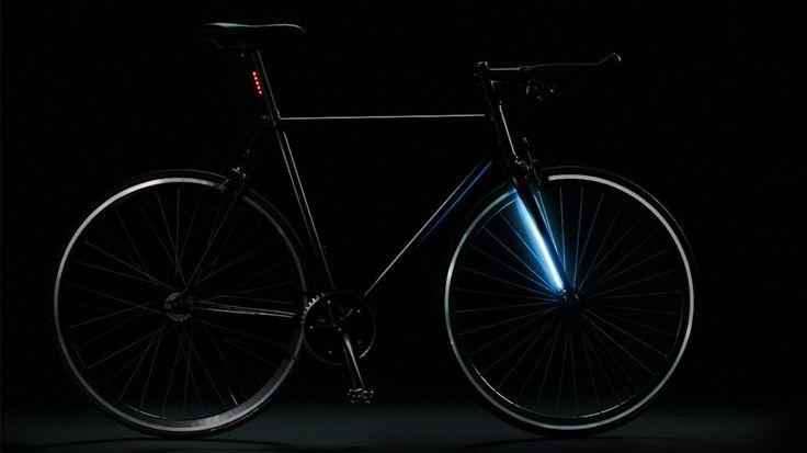 Dahili GPS ve ışık teknolojisiyle gece sürüşlerine yeni bir boyut getiren akıllı bisiklet