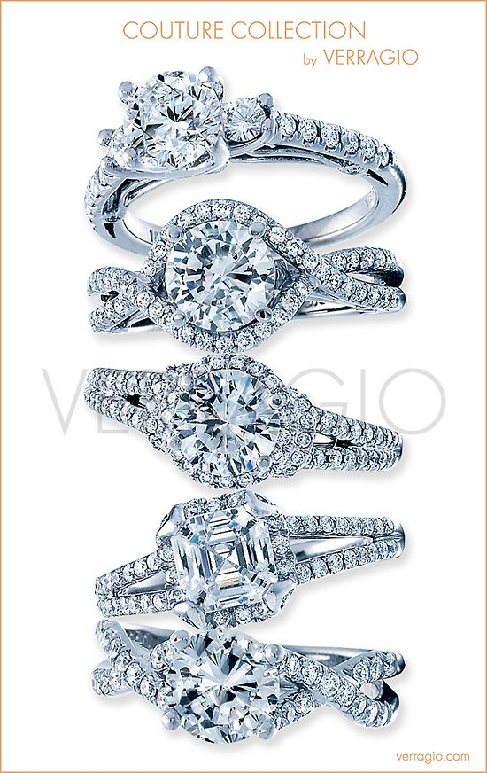 Couture Collection by Verragio: Engagement rings unlike any other.: Cute Rings, Jewels Arizona, Future, Rings Photos, Design Rings, Anniversaries Rings, Diamonds Rings, Capri Jewels, Engagement Rings