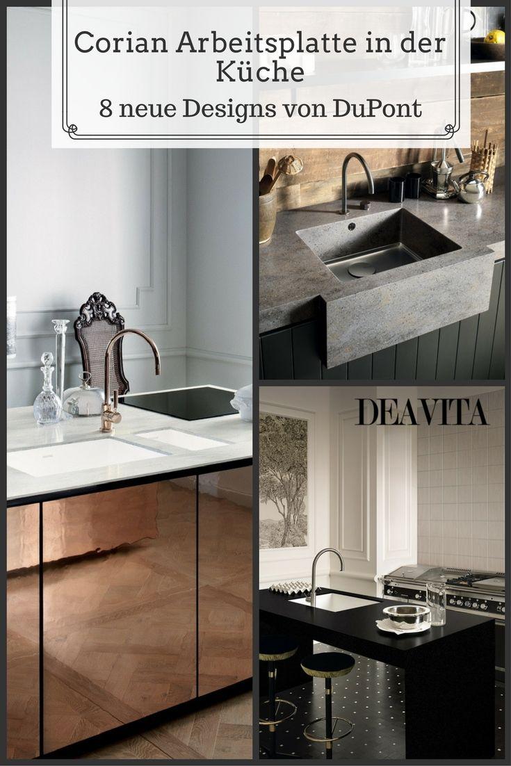 Amazing Corain Arbeitsplatte Von DuPont Werten Die Kücheneinrichtung Auf. Der  Mineralwerkstoff Zeichnet Sich Durch Hervorragender Funktionalität