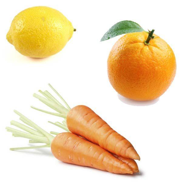 Ricetta per la preparazione di un Centrifugato ACE con carote, arance e limone…