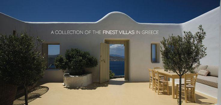 Amazing Villas in Greece