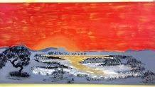 Bullseye: Please welcome the very talented Aboriginal artist...