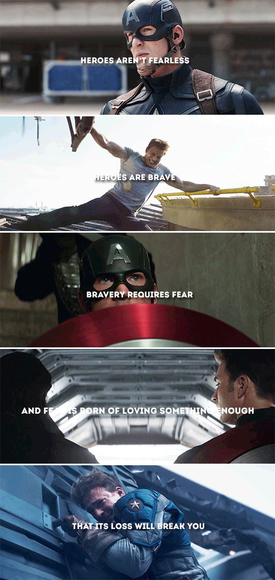 bravery requires fear