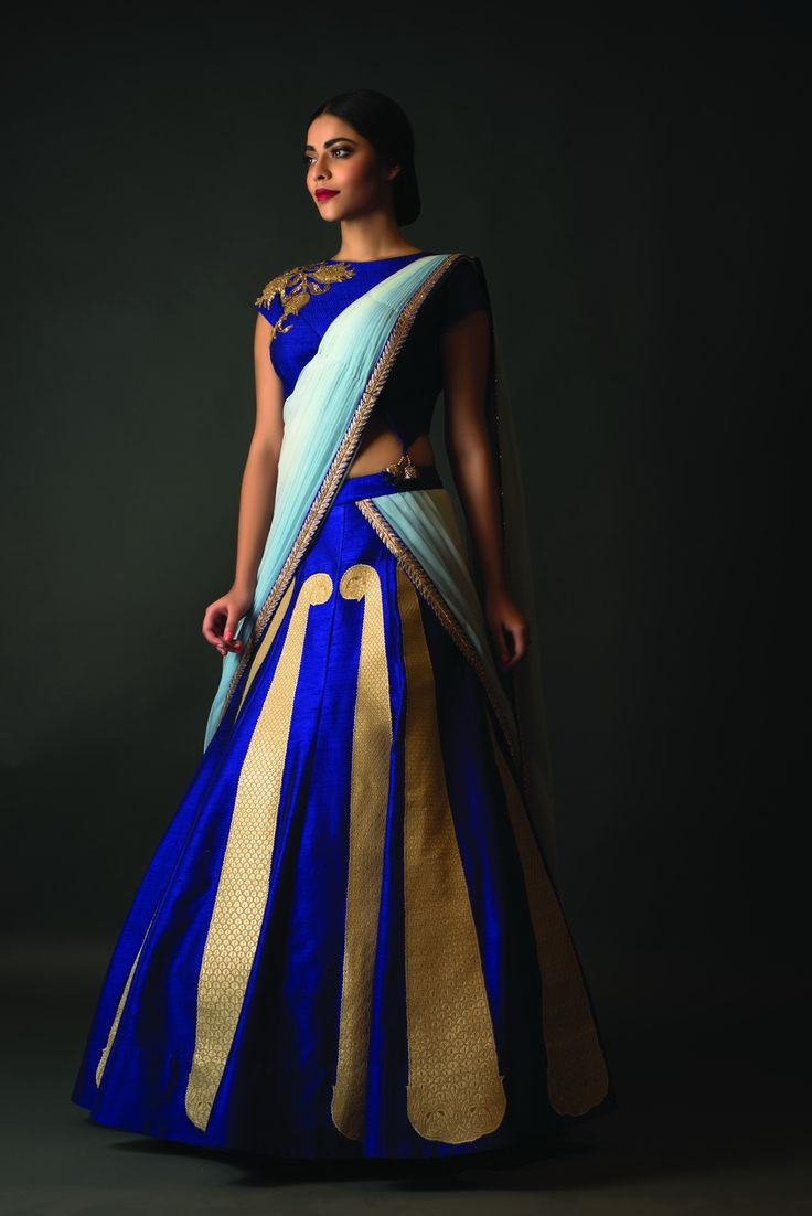 vibrant color,beautiful #lehenga..traditional #wedding collection with modern touch..#Indian Bridal collection