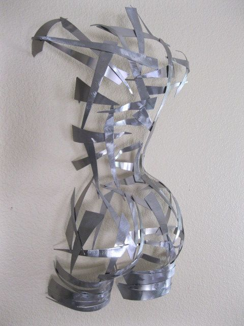 Oh how I love this piece!!    Abstract Free standing Sculpture by Holly Lentz by onlyart76, $369.00