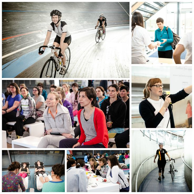 Ladiesfunsport Kick-off event #ladiesfunsport #sport #fun #ladies #angéliquedupré #Ghent #EddyMerckx #Vlaamswielercentrum #vickypersyn #events