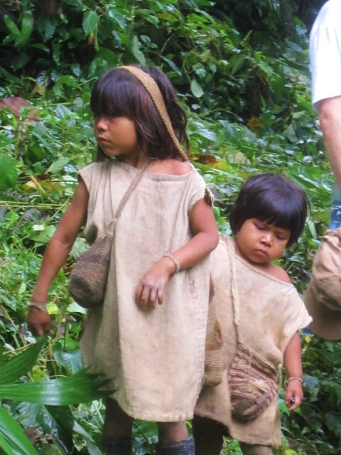 Kogi Indians, Colombia