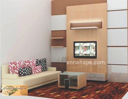 Desain Ruang Keluarga Apartemen-Rumah Kecil