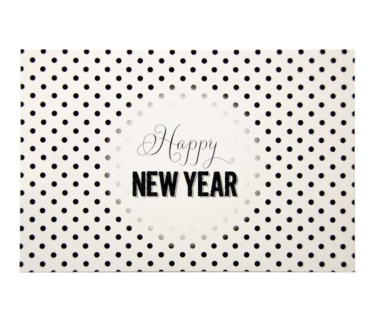Carte de voeux - Happy New Year by @stickerzlab