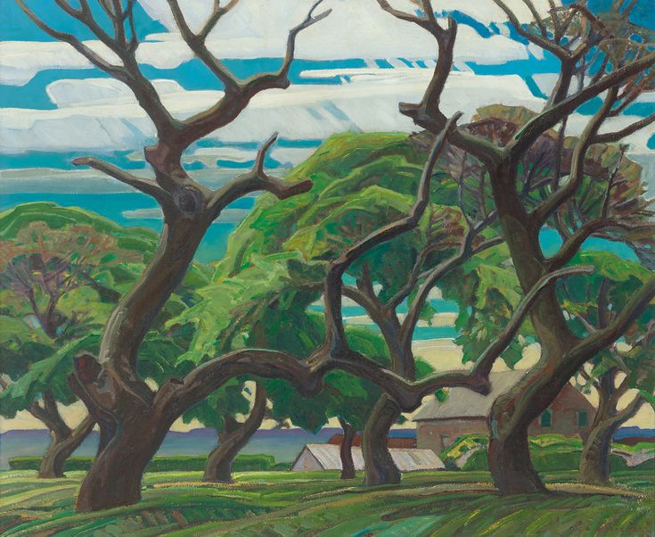 Franklin Carmichael - Old Orchard 30 x 36 Oil on board (1940)