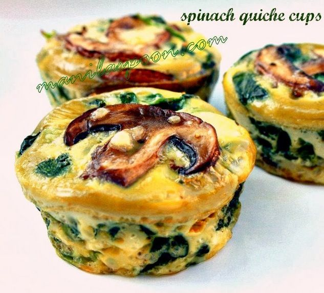 Get out the muffin tray and whip up a batch of these Spinach Quiche Cups!  They're beyond delicious and so easy.